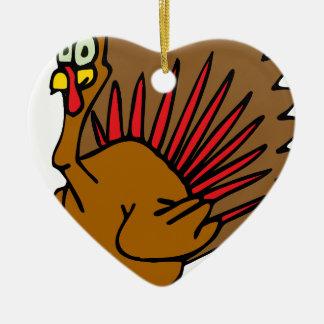 感謝祭トルコ セラミックオーナメント