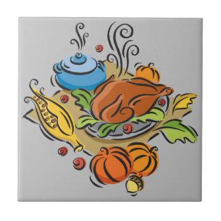 感謝祭トルコ タイル