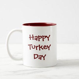 感謝祭トルコ ツートーンマグカップ