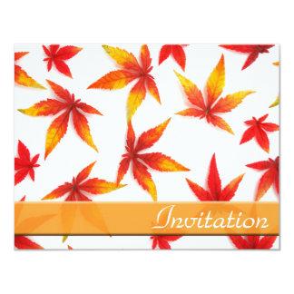 感謝祭日の招待状 10.8 X 14 インビテーションカード