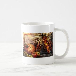 感謝祭日 コーヒーマグカップ