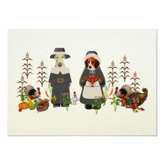 感謝祭犬 カード