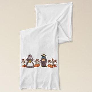 感謝祭猫 スカーフ