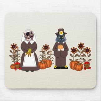 感謝祭猫 マウスパッド