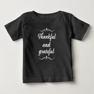 感謝祭 ベビーTシャツ