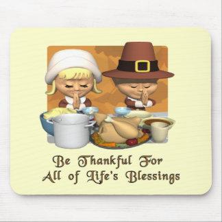 感謝祭: 生命の恵み マウスパッド