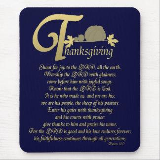 感謝祭-賛美歌100 マウスパッド