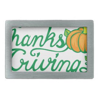 感謝祭 長方形ベルトバックル