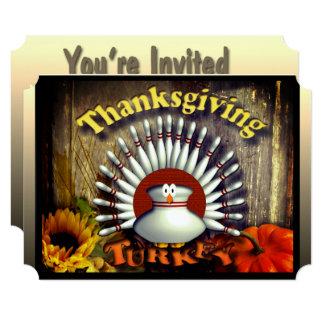 感謝祭 12.7 X 17.8 インビテーションカード