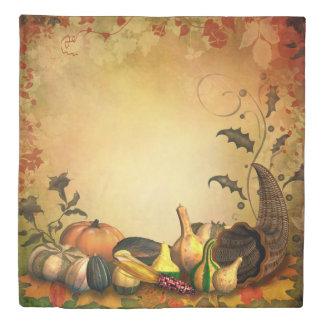 感謝祭(2つの側面)の女王の羽毛布団カバー 掛け布団カバー