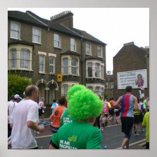 慈善のために走ること ポスター