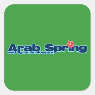 慈善のプロジェクト: シリアの改革のアラビアの春 スクエアシール