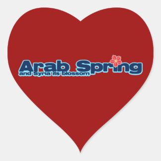 慈善のプロジェクト: シリアの改革のアラビアの春 ハートシール