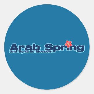 慈善のプロジェクト: シリアの改革のアラビアの春 ラウンドシール