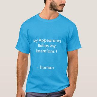 慈悲深いですがあります Tシャツ