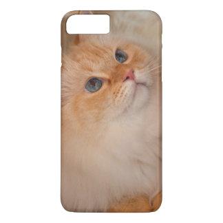 慈悲深い社会猫 iPhone 8 PLUS/7 PLUSケース