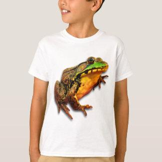 態度のウシガエルの大きいカエル Tシャツ