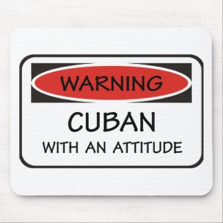態度のキューバ人 マウスパッド