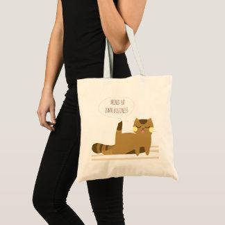態度の猫 トートバッグ