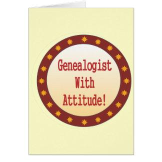 態度のGenealogist カード