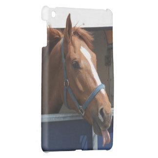 態度のiPadカバーを持つ馬 iPad Mini Case