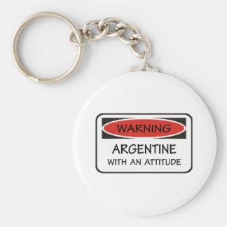 態度アルゼンチン人 キーホルダー