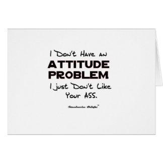 態度問題 カード