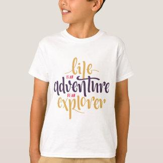 態度、恐れ、生命引用文のやる気を起こさせるな自信 Tシャツ