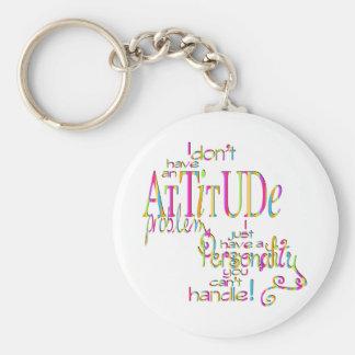 態度- Keychain キーホルダー