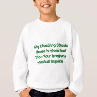 慢性の条件-緑 スウェットシャツ