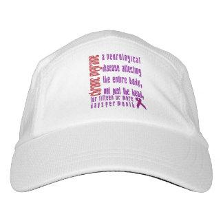 慢性の片頭痛-神経疾患の帽子 ヘッドスウェットハット
