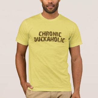 慢性のDuckaholic Tシャツ