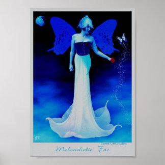 憂うつな妖精 ポスター