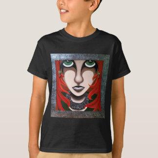 憂欝な女の子 Tシャツ