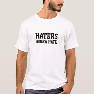 憎むことを行っている嫌悪症 Tシャツ