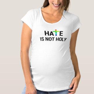 憎悪は神聖ではないです マタニティTシャツ