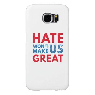 憎悪は米国を素晴らしくさせません SAMSUNG GALAXY S6 ケース
