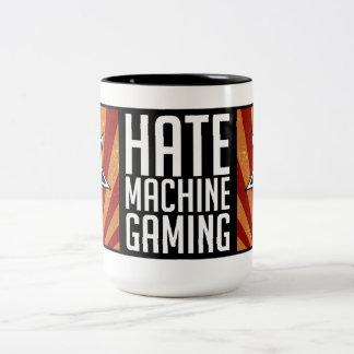 憎悪機械賭博のマグ-プロパガンダ ツートーンマグカップ