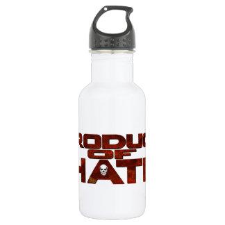 憎悪-基本的なロゴのコレクションの ウォーターボトル