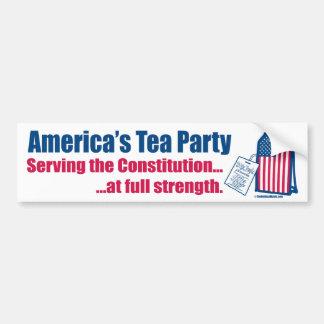 憲法にバンパーステッカーを機能するお茶会 バンパーステッカー