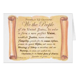憲法Hへの序文 カード