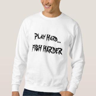 懸命の演劇の懸命の…魚 スウェットシャツ
