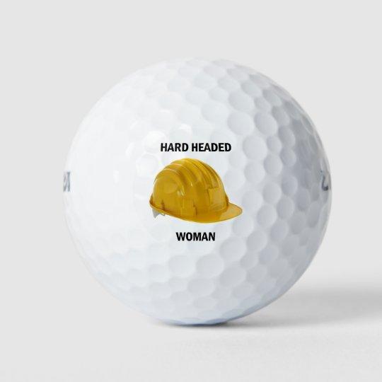 懸命は女性の先頭に立ちました ゴルフボール