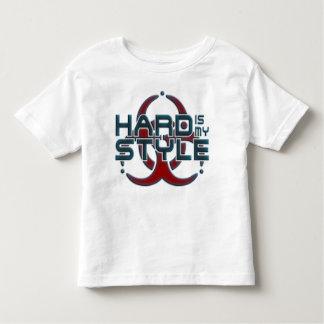 懸命は私のスタイル|本格的な音楽ジャンルです トドラーTシャツ
