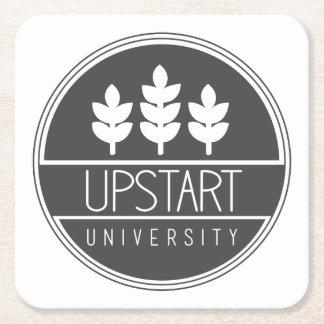 成り上がり大学ロゴのコースター スクエアペーパーコースター