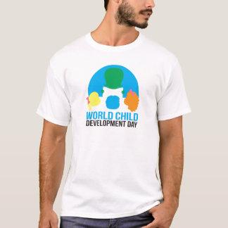 成人男子の不足分の袖のTシャツ Tシャツ