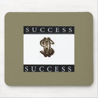 成功およびお金の記号のマウスパッド マウスパッド