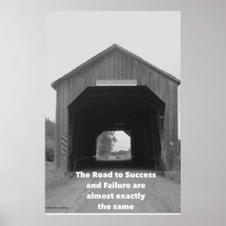 成功および失敗 ポスター