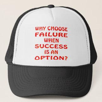 成功が選択である時失敗をなぜ選びなさいか キャップ