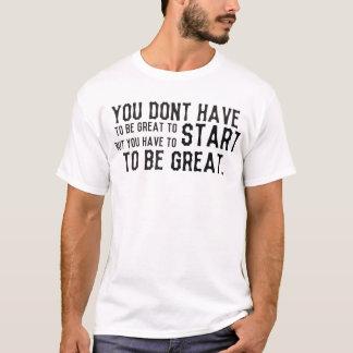 成功のティー Tシャツ